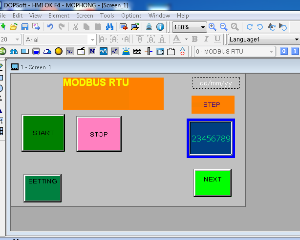 Lập trình arduino HMI - Bán linh kiện điện tử AGV