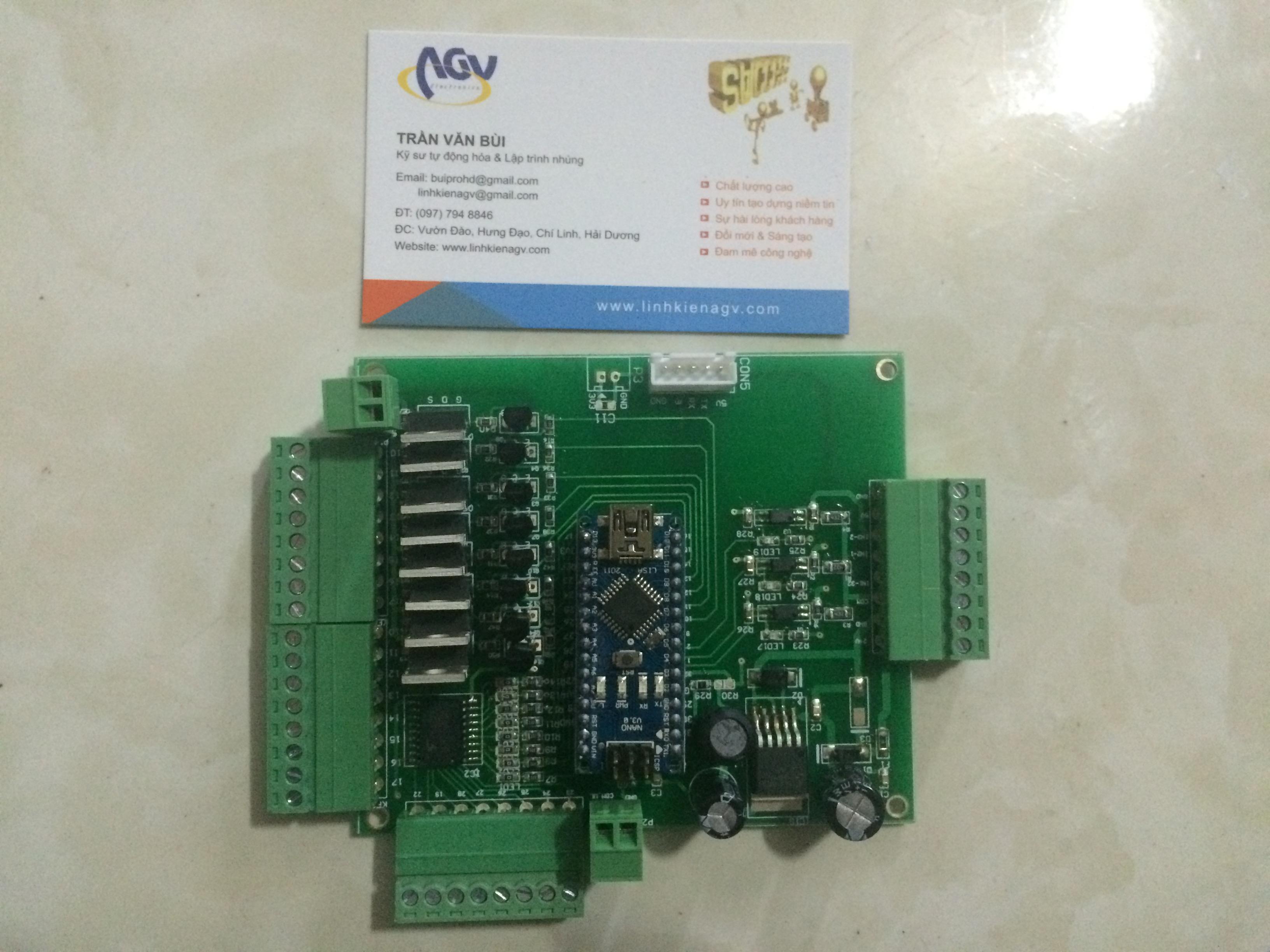 Mạch PLC ARDUINO NANO - Bán linh kiện điện tử AGV